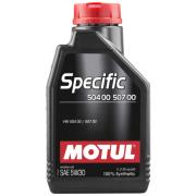 MOTUL SPECIFIC 504 00 / 507 00 5W-30 1L