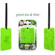 ZAPACH FRESH CARDS PERFUME GREEN TEA & LIME